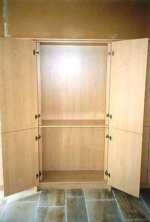 bureau kasten in perelaar postform laminaat open kast