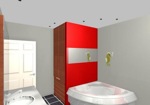 Zicht badkamer interieurbouw de clercq - Badkamer presentatie ...